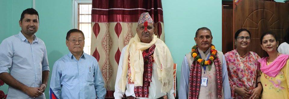 Campus Chief Mr. Jivan Pokhrel